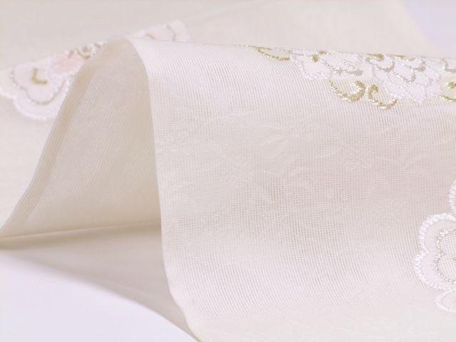 正絹≪西陣 みやこ謹製 夏物 袋帯 「涼風更紗華文」≫