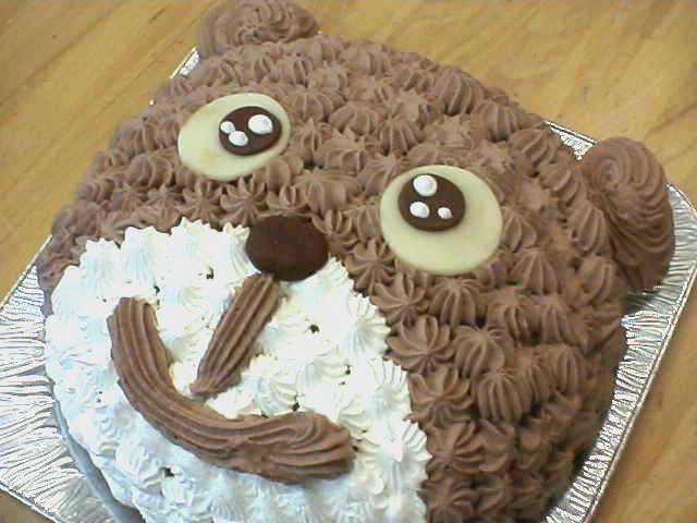 【誕生日ケーキバースデーケーキならこれ!】くまさんキャラクターで思い出の記念日に