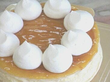 直径18cmふんわふわのチーズケーキ 半熟チーズスフレ