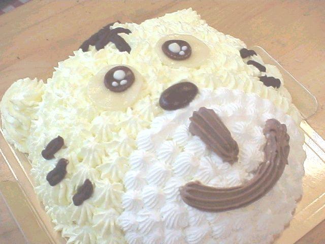 【誕生日ケーキバースデーケーキならこれ!】マロンクリームのタイガー食べちゃって!トラのキャラクターで思い出の記念日に