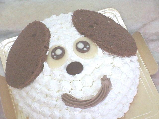 大好きわんこ♪犬のケーキでお誕生日【誕生日ケーキ キャラクター】