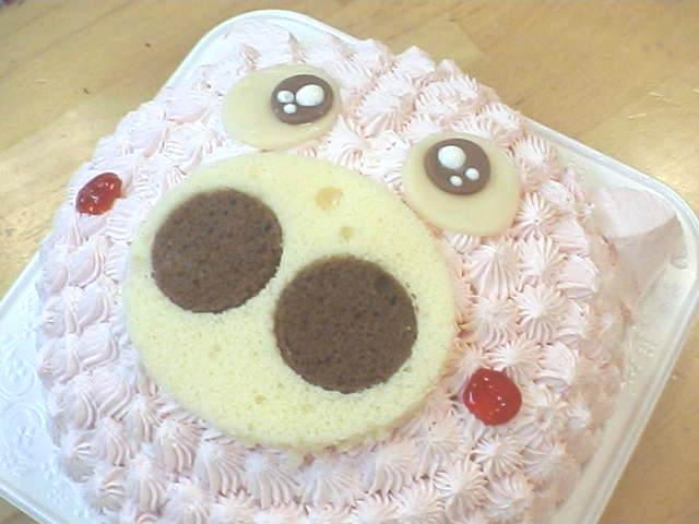 ピンクのぶたさんケーキで思い出に残る記念日に【誕生日ケーキ キャラクター】