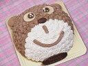 【子供キッズが喜ぶ誕生日ケーキバースデーケーキ記念日ケーキならこれ!】くまちゃんキャラクターで思い出の記念日にの商品画像