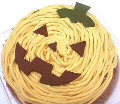 ハロウィン☆こわい!?それとも かわいいっ♪追加販売★かぼちゃのお化けモンブラン