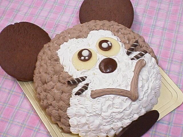 【誕生日ケーキバースデーケーキならこれ!】ねずみちゃんキャラクターでチュー