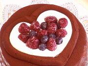 ケーキバースデーケーキ チョコレート プレート メッセージ