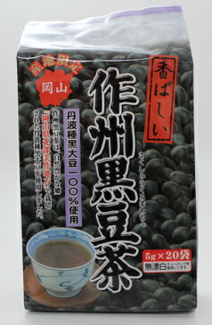 宇治園 作州黒豆茶 5g×20袋