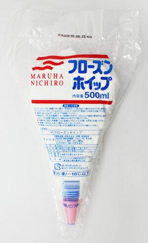 [冷凍] マルハニチロ 業務用 フローズンホイップ 500ml×20袋(1ケース)