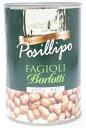 ポジリポ ボルロッティ うずら豆の水煮缶 400g