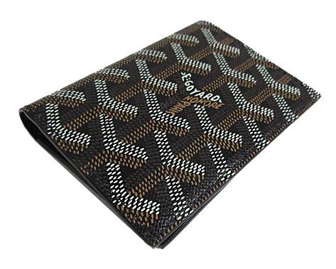 ≪新品≫ 正規品 ゴヤール カードケース サンマルク 黒 ブラック 箱・リボンのラッピング:心斎橋ミュゼ