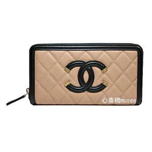 ff9071a64950 バイカラー シャネル 財布 - ミュウミュウ・シャネル・クロエの財布専門店