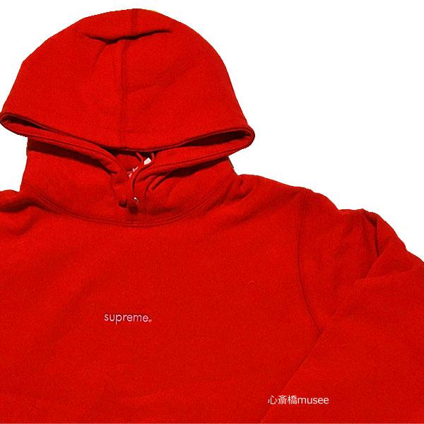 トップス, パーカー 64()AM9:595 18AW SUPREME Trademark Hooded Sweatshirts RED M