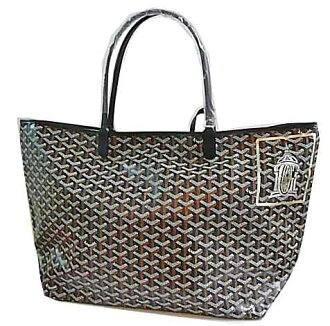 Genuine [] GOYARD Goyard Printemps stores OPEN limited! St. Louis GM black gold × シルバーマーカージュ fs3gm
