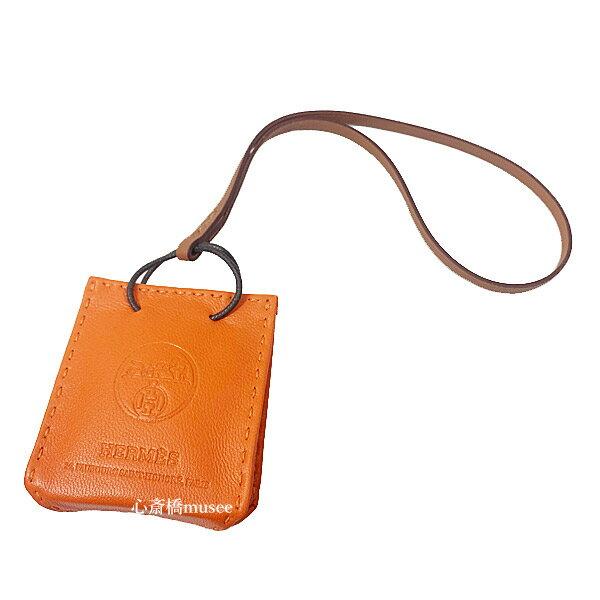 バッグ用アクセサリー, バッグチャーム 64()AM9:595HERMES HERMES Sac Orange Feu Orange charm