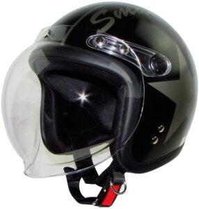 スモールジェットヘルメットスモールジョン(全5色)ヘルメットバイク
