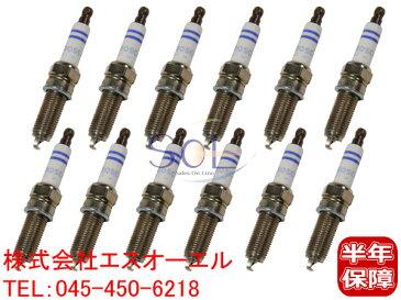 ベンツ W208 W209 W163 W463 イリジウム スパークプラグ 12本セット(1台分) BOSCH CLK240 CLK320 ML320 ML350 G320 0041591903 0031598103 0031599403 0041595003 FR8DPP33+ 0242230500