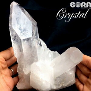 水晶クラスター【限定1点モノ】高品質水晶クラスターアーカンソー産天然石パワーストーン1812g