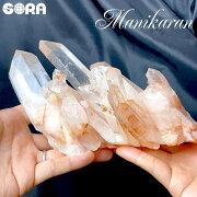 【限定1点モノ】クラスター・原石レアなピンク、素晴らしい形状ヒマラヤ水晶(マニカラン産)1498gパワーストーン天然石原石