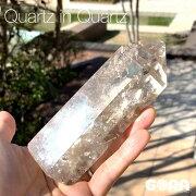 【限定1点モノ】ダイナミックな波動を受け取るヒマラヤ産クォーツインクォーツ約519g水晶クラスターポイント