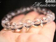 心優しい女神「パールヴァティー」のエネルギーAAAマニカラン産ヒマラヤ水晶10mm一連ブレスレット水晶マニカラン水晶パワーストーンブレスレット