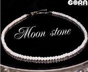 【数量限定】ネックレス(40cm+5cmアジャスター)未来を明るく照らす★AAAAAレインボームーンストーンシルバー925パワーストーン天然石