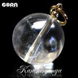 パワーストーン 水晶(カンチェンジュンガ産)16mm 天然石 水晶 ヒマラヤ 水晶 パワーストーン チャーム