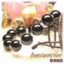 AAAAブラックトルマリン(12mm) ブラジル産  水晶ボタン ブレスレット ...