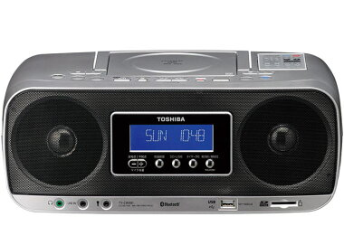 東芝Bluetooth対応SD/USB/CDラジオTY-CWX81(S)
