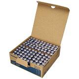 《マウスやリモコン、掛け時計、置時計、懐中電灯などに》東芝 アルカリ乾電池単3形100本箱入りLR6L100P(2本×50パック)