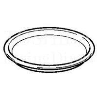 東芝 電子レンジ ER-SSB1他電子レンジ付属丸皿(ターンテーブル) (32582161)