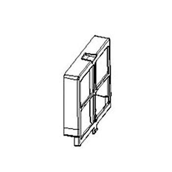 シャープ プラズマクラスター美容家電用フィルターカバー2813370063[適合機種]IB-HU32-G IB-HU32-P IB-HU33-P