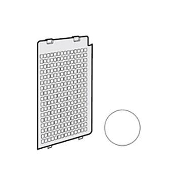 シャープ 加湿空気清浄機用後ろパネル2801580637(ホワイト系)[適合機種]KC-D70-W