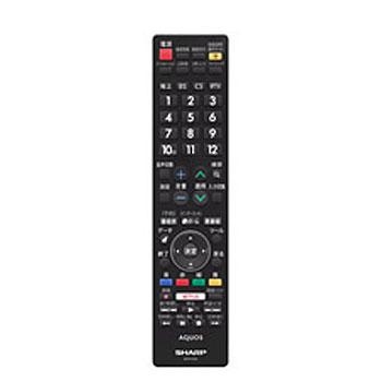 《LC-40U30 LC-50U30 LC-52US30 LC-55U30 LC-58U30 LC-60US30 LC-60XD35 LC-70XG35 LC-80XU30用》シャープ 液晶テレビ用リモコン(106380478)