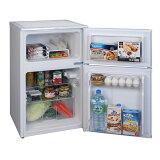 アイリスオーヤマ_90L_2ドア冷凍冷蔵庫IRR-90TF-W