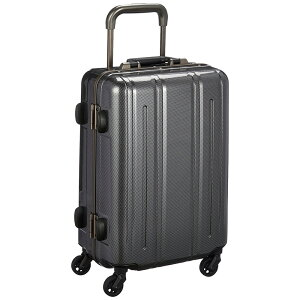 《レトロな雰囲気を加えた丈夫なハードスーツケース》EVERWIN 機内持込可スーツケースEVERWIN BE Narrow 30L(EW31237)ブラックカーボン