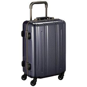 《レトロな雰囲気を加えた丈夫なハードスーツケース》EVERWIN 機内持込可スーツケースEVERWIN BE Narrow 30L(EW31237)ネイビーカーボン