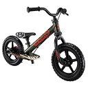 《軽量アルミフレーム、しっかりと止まれるイージーブレーキ搭載》ides キック(トレーニー)バイクD-Bike KIX AL(50460)ブラック/レッド