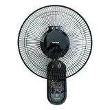 《場所を取らずに涼風をお届け》TEKNOS 羽根径30cmリモコン壁掛け扇風機KI-W301RK
