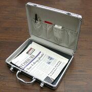 ビジネス アタッシュケース タブレット ポケット ブラック ブリーフ パソコン オフィス