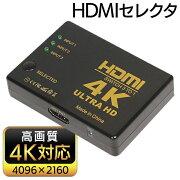 3入力1出力HDMIセレクター