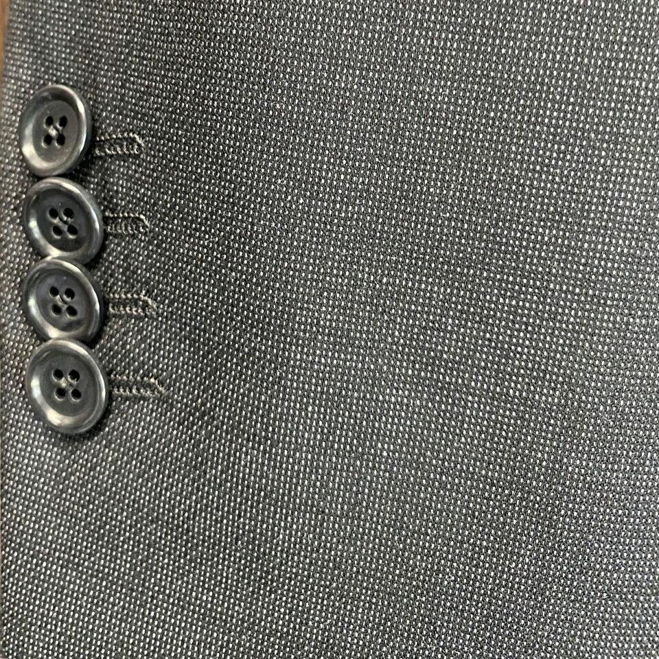 メンズジャケット袖丈詰めアキミセミシンセッパ3センチ以内