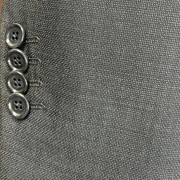 メンズジャケット袖丈詰めアキミセ ミシンセッパ4センチ以上