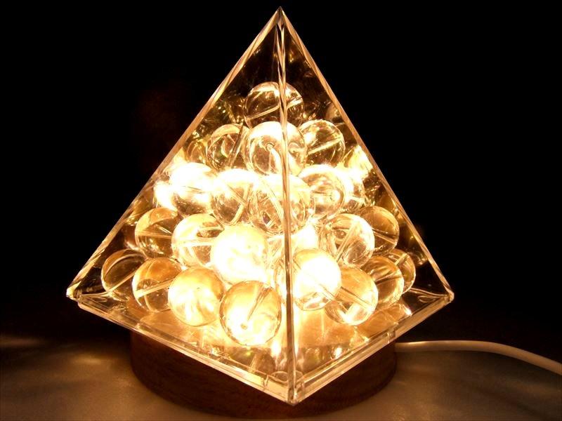 ●特注10cm【ピラミッド ケース】 お持ちのさざれ石でピラミッドに♪ レアストーンさざれにピラミッドパワー注入!! 原石や置物のチャージにも♪【特注サイズ】