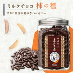 チョコレート柿の種 ボトル入り 380g   こちらの商品は夏季【4月15日から10月15日】までは冷蔵配送となります。