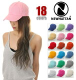 NEWHATTANニューハッタンジェットキャップ帽子キャップメンズレディースCAP(18色)cap-nh-03u03