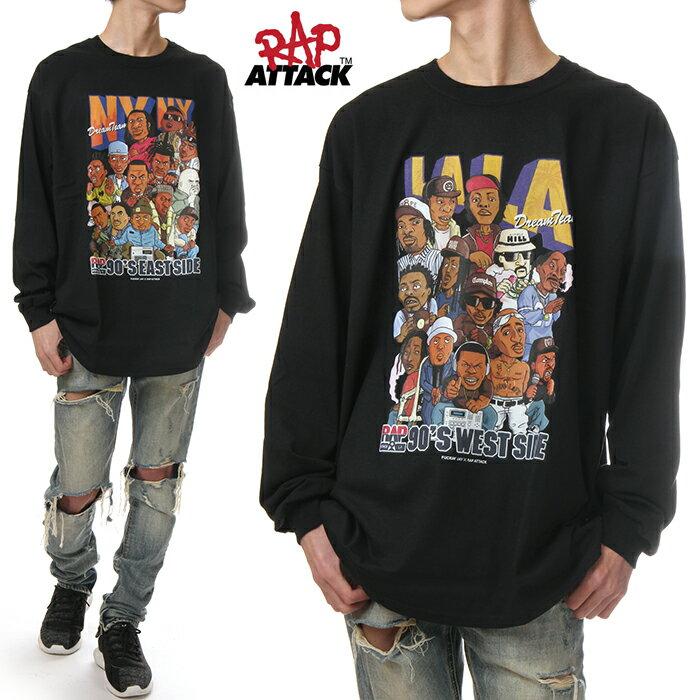 トップス, Tシャツ・カットソー RAP ATTACK T T T T 90 NY LA HIPHOP M L XL 2XL