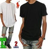 ラルフローレンTシャツ半袖無地メンズPOLORALPHLAUREN大きいサイズブラックホワイト黒白アメカジスポーツB系ストリート系ヒップホップダンス衣装USAロゴブランドファッション