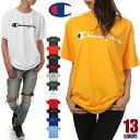 チャンピオン Tシャツ メンズ レディース CHAMPION ビッグT USAモデル ロゴ 半袖 Tシャツ 大きいサイズ ビッグシルエット ビッグ ビッグサイズ ロゴ ビッグロゴ トレーニング ジム ウェア ブランド 白 黒 青 紺 緑 紫 赤 グレー イエロー オレンジ S M L XL 2XL