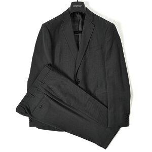 【半額以下】エンポリオ アルマーニ EMPORIO ARMANI テーラード スーツ 2Bシングル 春夏 3シーズン メンズ ヴァージンウール 100% ダーク グレー MADE IN ITALY イタリア ブランド ビジネス サイズ L XL 2XL