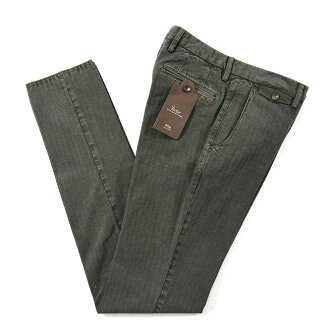 PT01/pitizerouno/Victor/棉布伸展褲子人字形條紋/EVO FIT